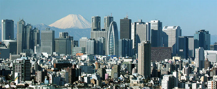 Tokyo City Skyline : メートル計算 : すべての講義